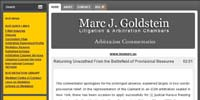 Marc J Goldstein Litigation and Arbitration