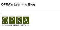 OPRAs Learning Blog