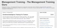The Management Training Guru