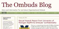 The Ombuds Blog