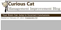 Curious Cat Management Improvement Blog