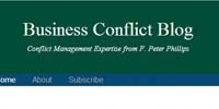 business conflict blog